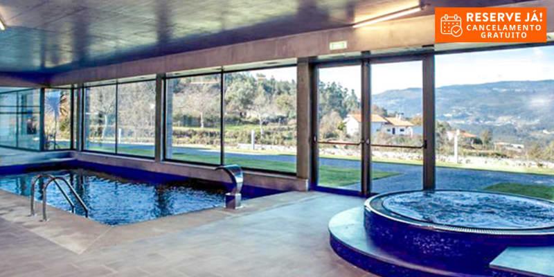 Tempus Hotel & Spa 4*- Gerês   Estadia & Spa com Opção Meia-Pensão Junto ao Rio Lima