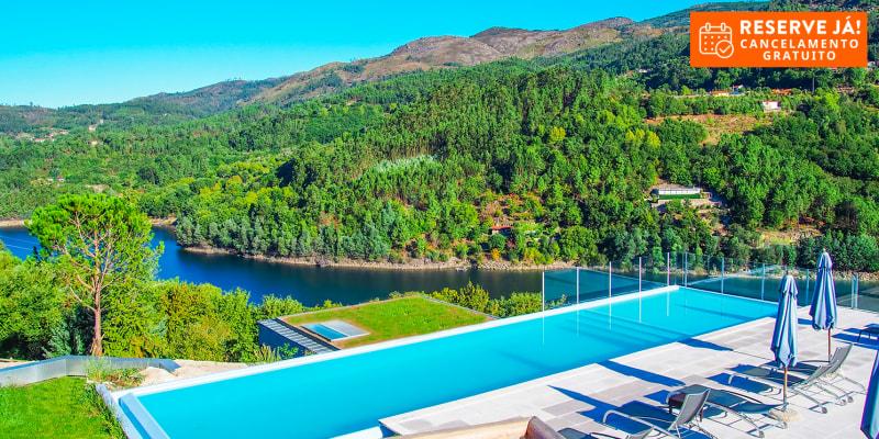 Aquafalls Nature Hotel 5* - Gerês | Férias em Família com Opção Meia-Pensão ou Pensão Completa