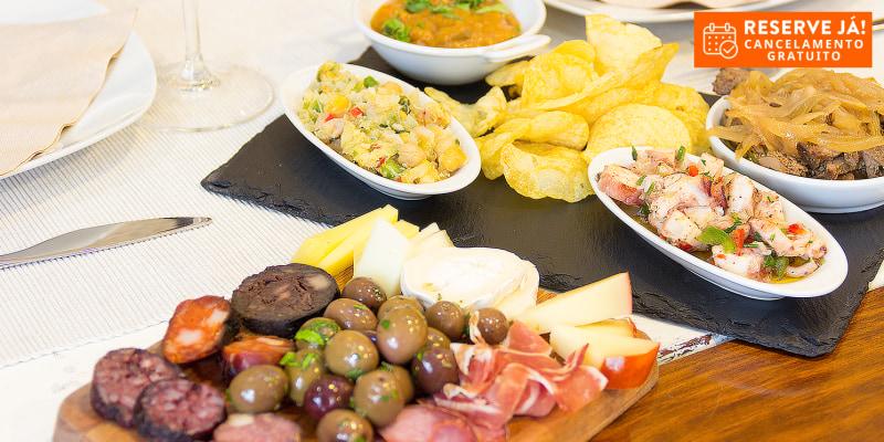 Degustação de Petiscos a Dois | Taberna da Baixa - Lisboa