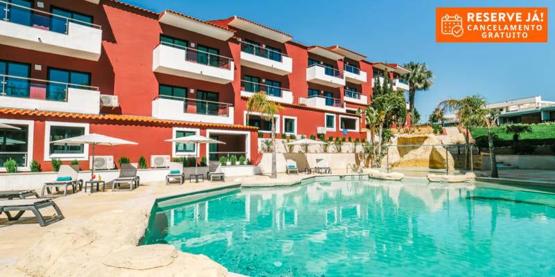 Topázio Mar Beach Hotel & Apartments - Albufeira   Férias para até 4 Pessoas em Apartamento Junto ao Mar