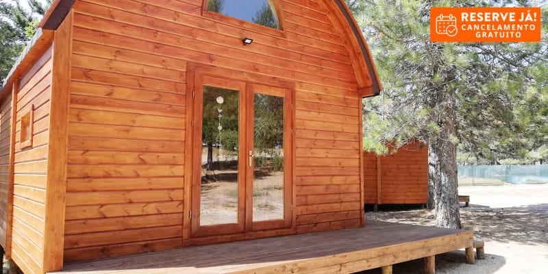 Vale do Rossim Eco Resort - Serra da Estrela | Férias com Praia Fluvial em Chalet para até 6 Pessoas e Opção Meia-Pensão