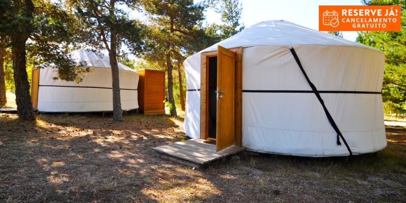 Vale do Rossim Eco Resort - Serra da Estrela | Férias com Praia Fluvial em Yurt e Opção Meia-Pensão