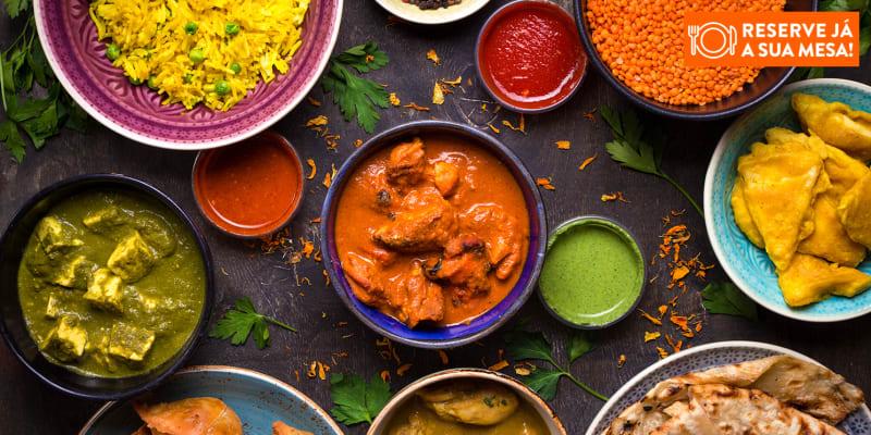 Com Amor, para Dois! Viagem Gastronómica no Bollywood Lounge   Marquês de Pombal