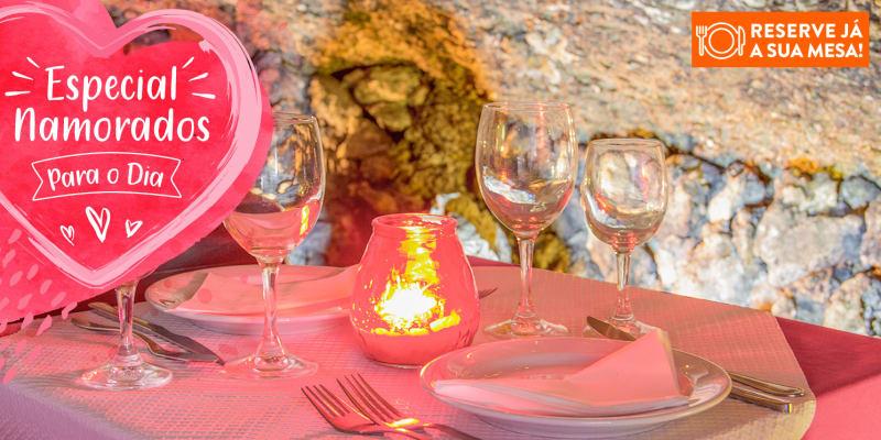 Dia dos Namorados: Jantar Romântico na Gruta do Paraíso | Alfama