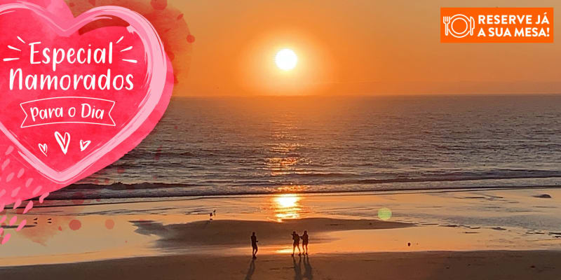 Dia dos Namorados: Jantar Romântico com Vista Mar! Marisqueira Sotavento - Fonte da Telha