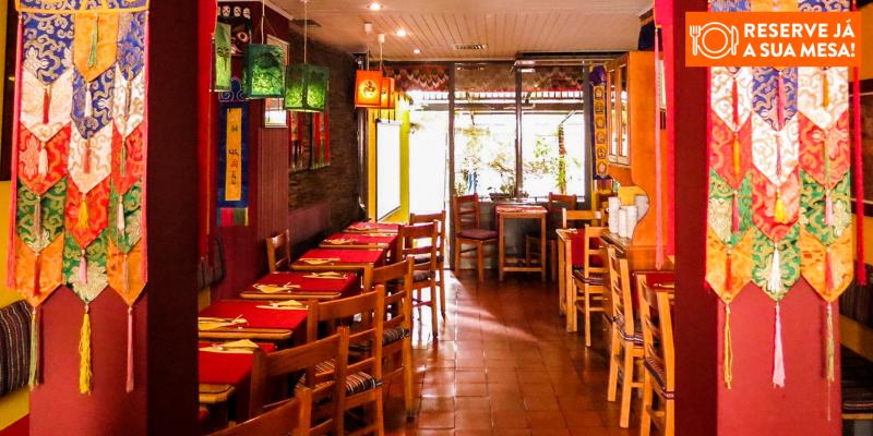 Os Tibetanos - Experiência Vegetariana para Dois   Lisboa