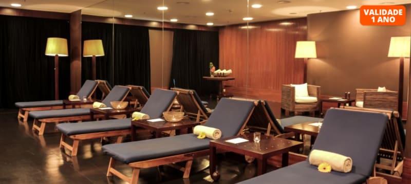 Luxury Spa: Circuito + Massagem | 1 ou 2 Pessoas | 1h30 | Holiday Inn Porto Spa & Tea