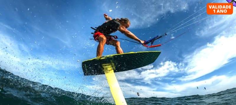 Kite Hydrofoil em Altura | 1 Hora c/ Opção 2 Pessoas | Altura Kites