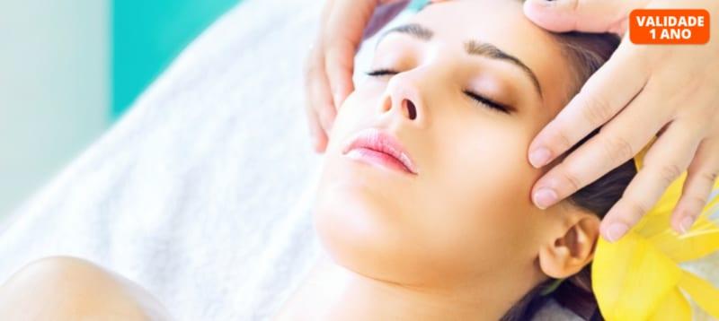 Pura Tranquilidade! Massagem Crânio-Facial | 30 Minutos | Av. Roma