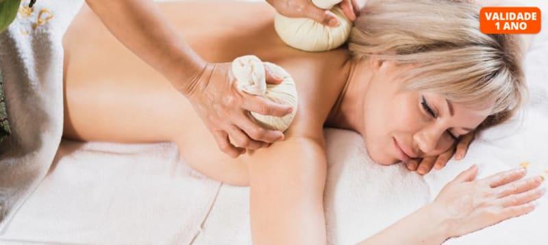 Escolha a Massagem! Pindas ou Bambu | 50 Minutos | Coimbra