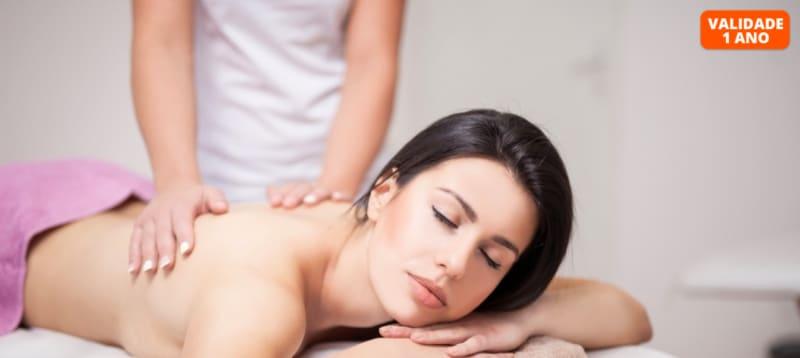 Paz & Relax: Massagem à Escolha   30 Min.   Nature Body - Telheiras