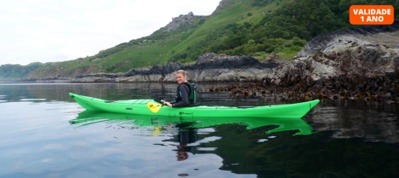 Baptismo de Kayak de Mar   2 Horas de Aventura Aquática em Vila Nova de Milfontes - Alentejo