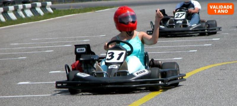 Karting no Kartódromo do Oeste   30 Minutos - 1 ou 2 Pessoas