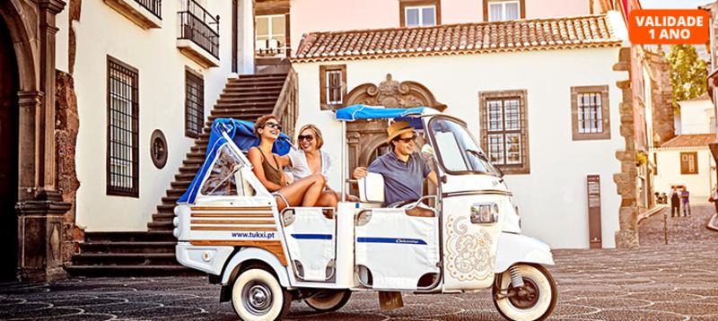 Tours na Ilha da Madeira em Tuk Tuk - Percurso à Escolha | Até 3 Pessoas | Tukxi Madeira