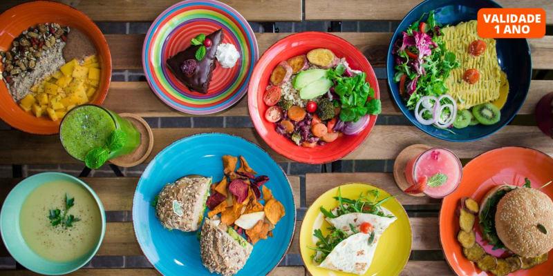 Almoço Vegetariano a Dois na Margem Sul - Almaré | Almada