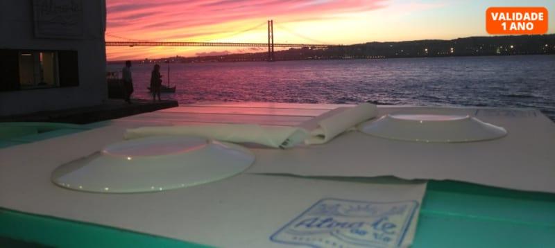 Experiência Gastronómica a Dois | Atira-te ao Rio - Almada