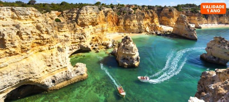 Passeio de Barco no Algarve: Benagil, Carvoeiro e Praia da Marinha - Portimão