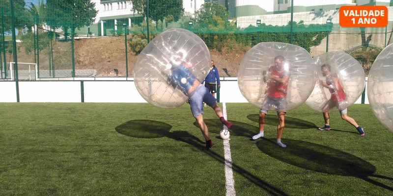 Bubble Football - Alfragide | Jogo para Grupo até 30 Pessoas | 3 Horas