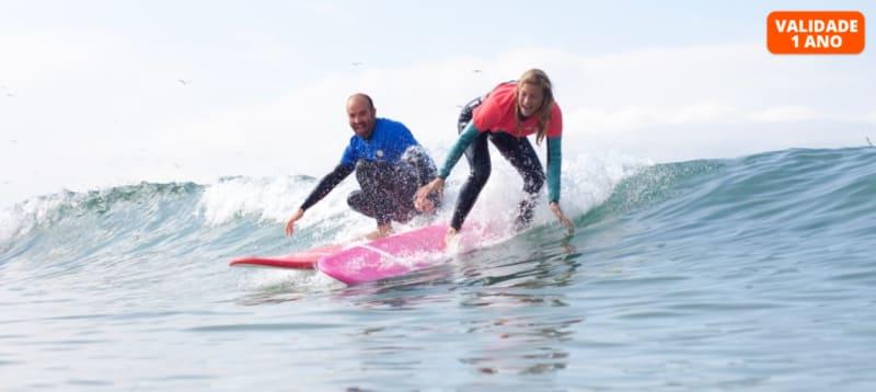 Aula de Surf Particular | 2 Horas | Costa de Caparica