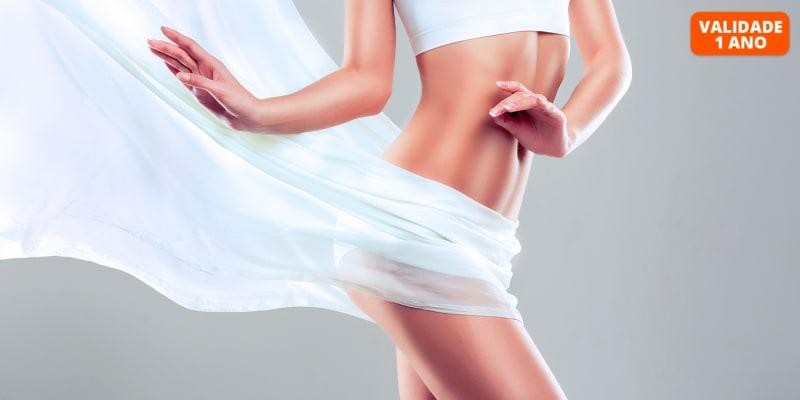 6 ou 10 Tratamentos Corporais | iLipo & Pressoterapia | Restelo