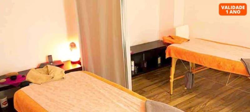 Massagem Relax c/ Óleos Essenciais a Dois   50 Minutos   Príncipe Real