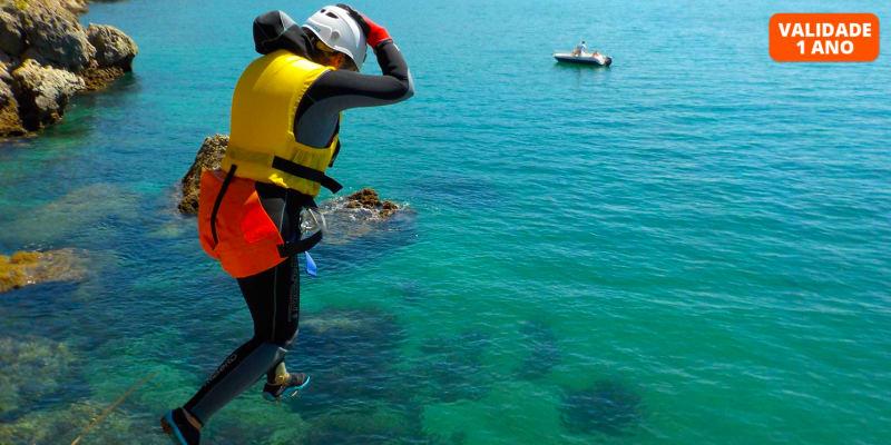 Coasteering no Portinho da Arrábida   4 Horas - Into the Nature   1, 2 ou 4 Pessoas
