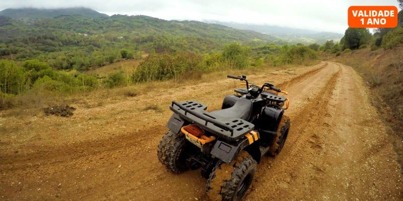 Passeio de Moto 4 para 4 Pessoas pela Serra da Arrábida - 25km | Kartarrabida