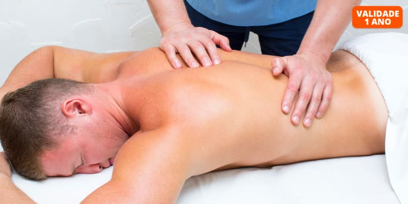 Sinta-se Renovado! Massagem Relaxamento Corpo Inteiro | 45 Minutos | Laranjeiras