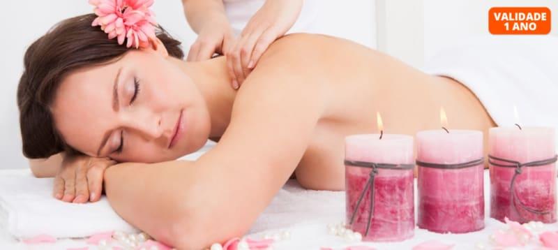 Massagem à Escolha: Relax ou Velas | 1 Hora | CatSpa - Massamá