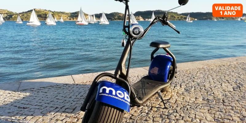 Tours por Lisboa em Scooter Eléctrica   1 ou 2 Pessoas