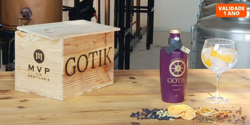 O 1.º Gin do Ribatejo! Visita à Destilaria + Prova de Gin Gotik  | 1 ou 2 Pessoas | Santarém
