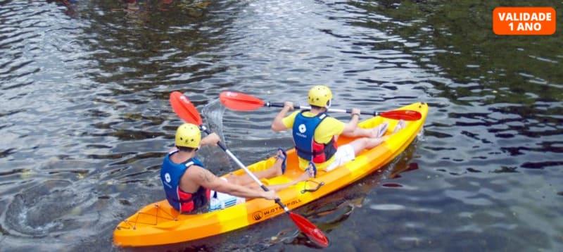 Descida do Rio Vez em Canoa Sit-on-Top para Dois | 2h30 | Gerês