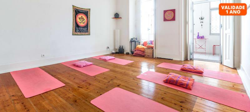 Aulas de Yoga - 1 Mês   Saldanha
