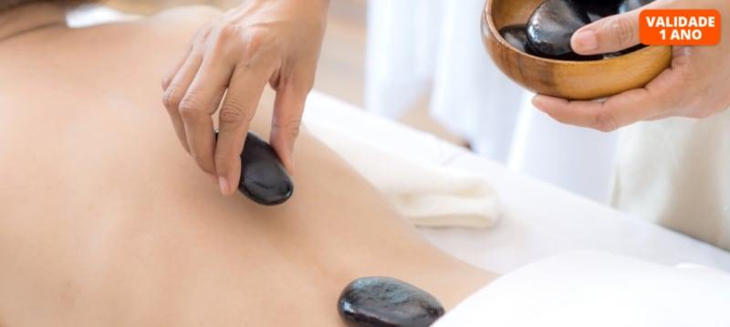 Pedras Quentes ou Velas? Massagem + Ritual de Chá e Bombons | 1h | Gondomar