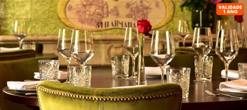 Sabores Tradicionais a Dois com um Toque de Requinte no Restaurante 31 d´Armada   Alcântara