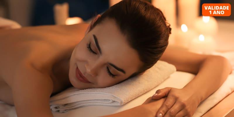 Massagem ao Corpo Inteiro para 1 ou 2 Pessoas | 50 Minutos | Colinas do Cruzeiro