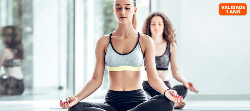Yoga   1 Mês de Aulas na Banga Dance It - Algés