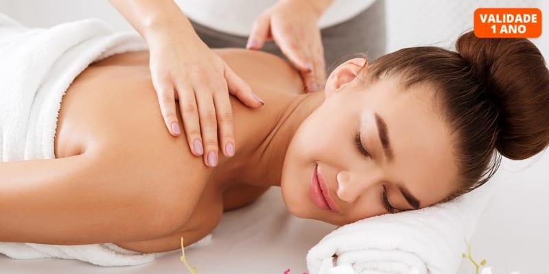 Experiência Relax Inédita! Massagem Relax c/ Óleo Puro de Cannabis - 50 Min.   5 Clínicas Sorria