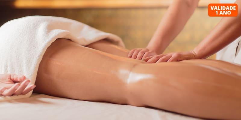 30 Sessões de Massagem para Celulite e Gordura Localizada | 1h30 | Alvalade e Alameda