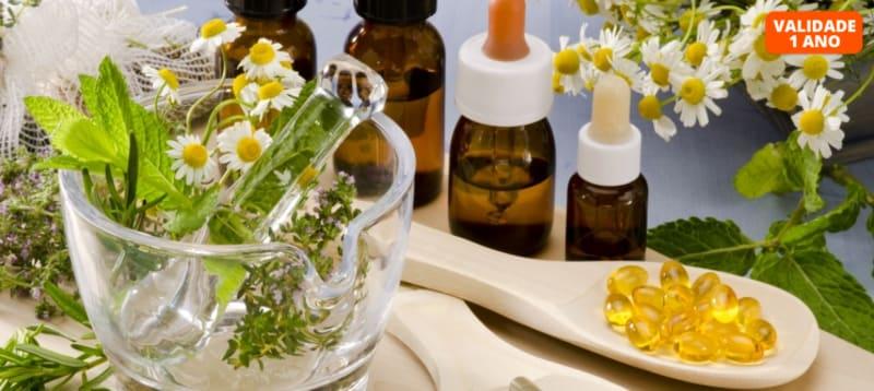 Curso Online de Medicina Natural | 24h/dia com Avaliação e Certificado