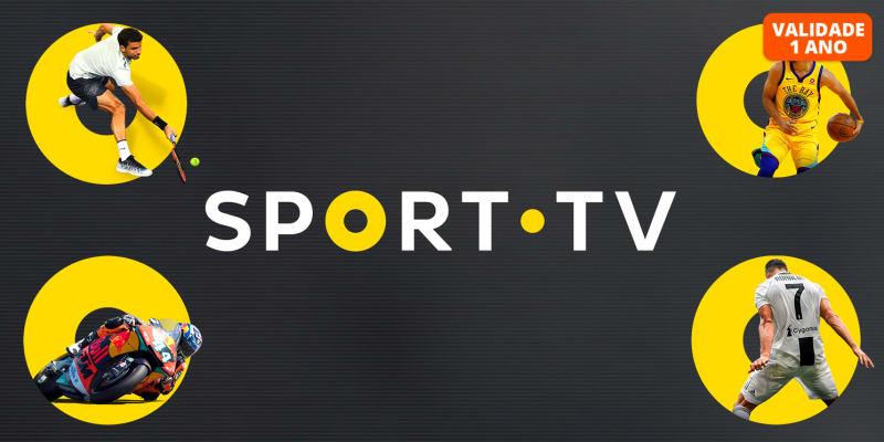 O Melhor Presente Para os Fãs de Desporto! SPORT TV   1, 3, 6 ou 12 Meses