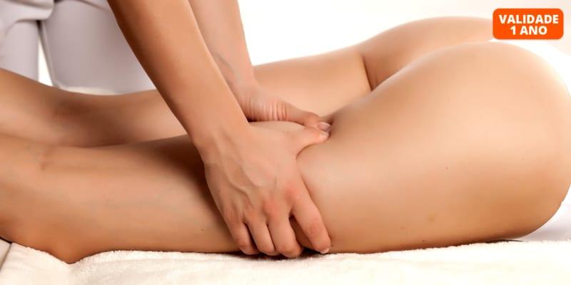 4 ou 6 Sessões de Pump Up, Drenagem Linfática Manual ou Massagem Modeladora - Até 40 Minutos | Almada