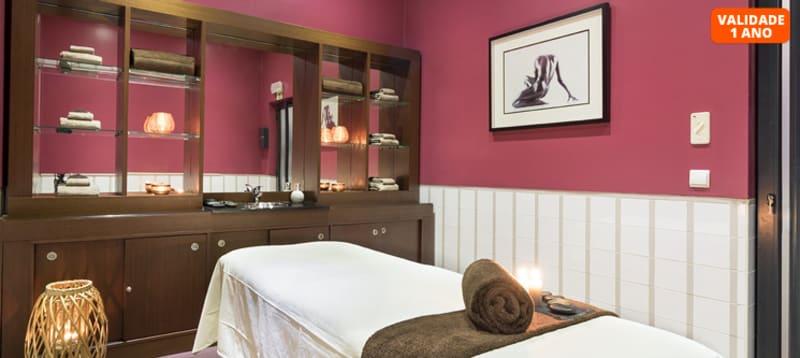 Massagem Relax Corpo Inteiro & Acesso ao Spa | 1 ou 2 Pessoas | 2h30 | Vila Galé Ópera