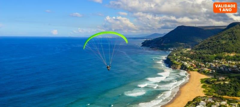 Voo de Parapente - Liberdade Sobre as Nuvens! 40 Minutos - Arrábida