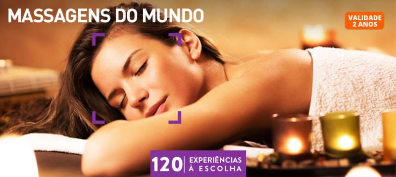 Massagens do Mundo | 120 Locais à Escolha