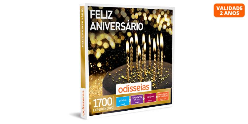 Feliz Aniversário   1700 Experiências