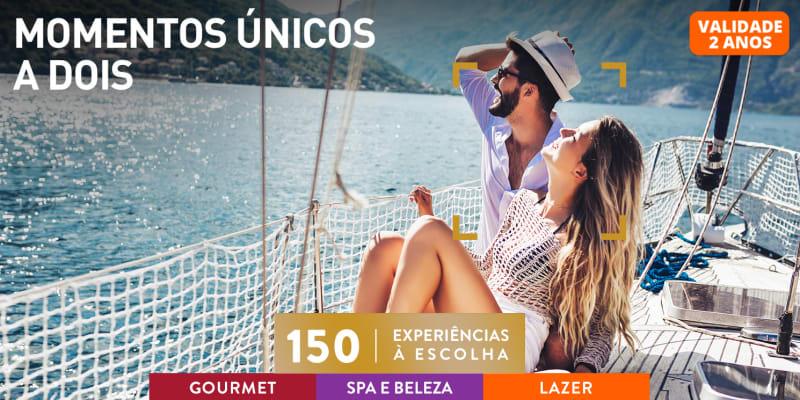 Momentos Únicos a Dois | 150 Experiências à Escolha