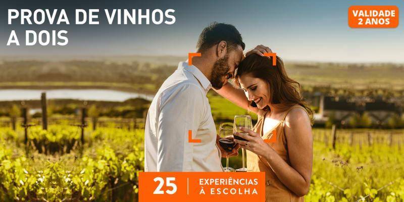 Prova de Vinhos a Dois | 25 Experiências à Escolha