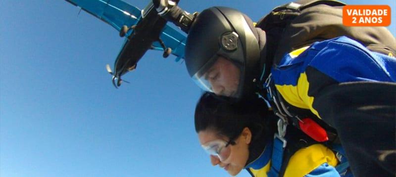 Salto Tandem a 3000m de Altitude | Sky Fun Center - Castelo Branco