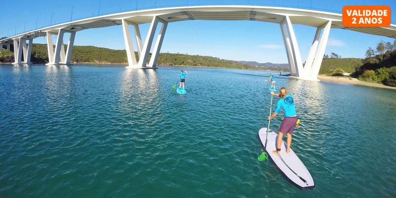 Passeio de Stand Up Paddle no Rio Mira a Dois | 2h | Vila Nova de Milfontes